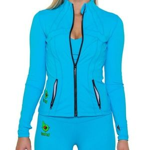 Bang Energy fitted lightweight zip jacket